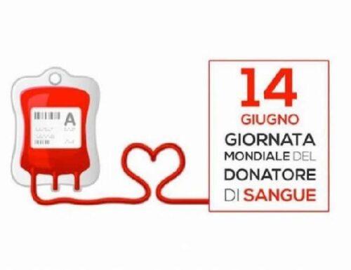 Giornata mondiale del donatore di sangue.