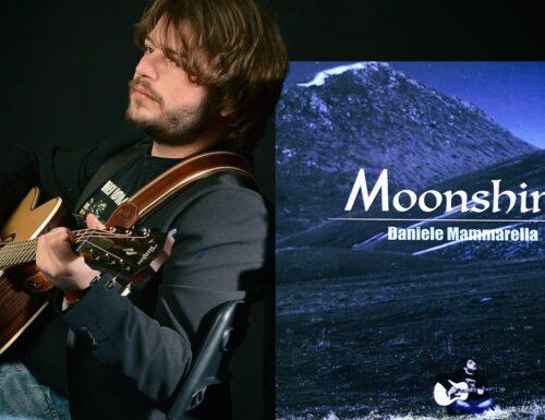 """""""Moonshine"""" è il nuovo album di Daniele Mammarella."""