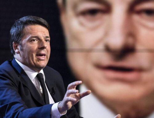 Renzi: Con Draghi sono d'accordo al 101%!