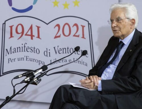 Mattarella a Ventotene parla di accoglienza e UE.