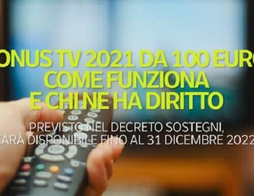 Bonus Tv per tutti!