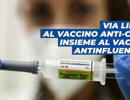 A Rieti parte la co-vaccinazione: insieme vaccini Covid e anti-influenzale.