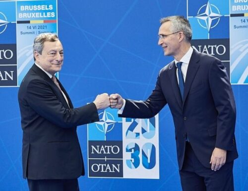 Draghi, la NATO è più interessata al sud est asiatico che alla UE.
