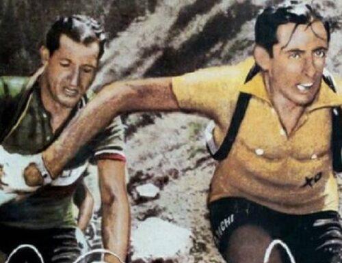 Le leggende del ciclismo.